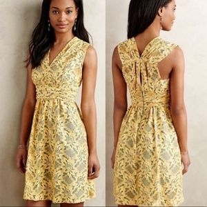 Plenty by Tracy Reese Niki Yellow Lace Dress 8